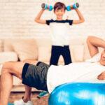 ورزش خانگی برای تناسب اندام