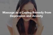 ماساژ درمانی میتواند به کاهش افسردگی فصلی کمک کند